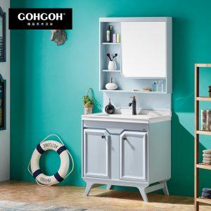GOHGOH 现代简约 航空板落地式 浴室柜1720-800