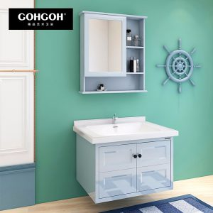 GOHGOH 现代简约 航空板挂墙式 浴室柜BL-1706