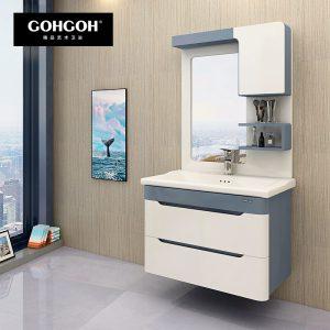 GOHGOH 现代简约 航空板挂墙式 浴室柜BL-1708