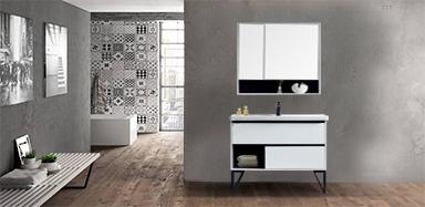 现代简约 航空板落地式 浴室柜1729