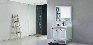 现代简约 航空板落地式 浴室柜 1720-800