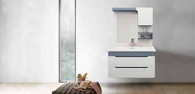 现代简约 航空板挂墙式 浴室柜 BL-1708