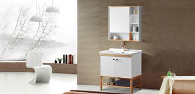 现代简约 航空板落地式浴室柜 805-800