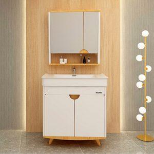 2020浴室柜流行趋势 轻奢现代浴室柜