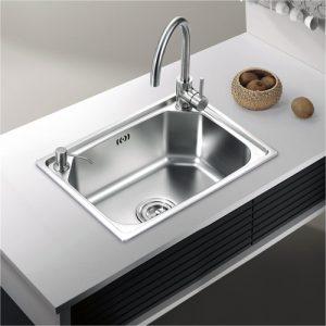 实用性价比高的厨房水槽种类介绍